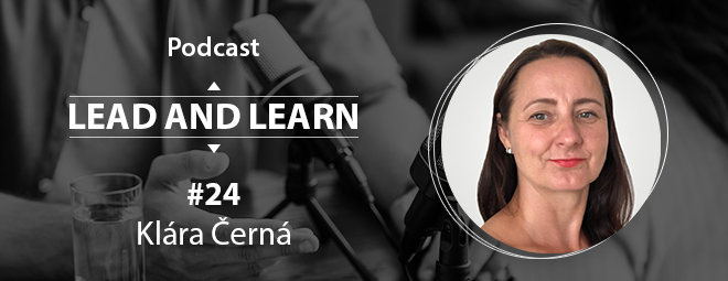 Podcast Lead and Learn #21 - Veronika Štroblová